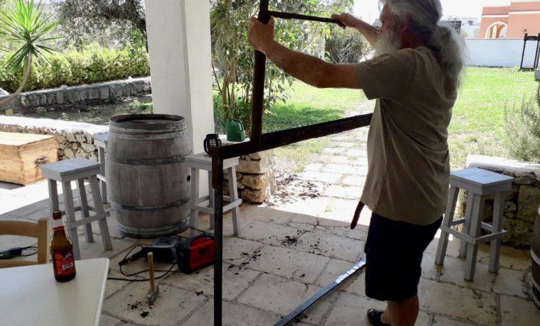L'oro della ruggine: storia di un telaio all'Aia di San Giorgio